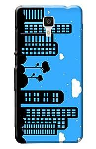 Xiaomi Mi4 Cover, Premium Quality Designer Printed 3D Lightweight Slim Matte Finish Hard Case Back Cover for Xiaomi Mi4