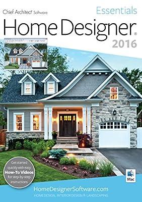 Home Designer Essentials 2016