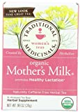 Traditional Medicinals Organic Mothers Milk, 16-Count Boxes (Pack of 6)