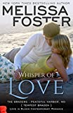 img - for Whisper of Love (The Bradens at Peaceful Harbor): Tempest Braden book / textbook / text book