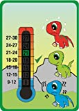 Baby Dinosaurs Nursery & Room Safety Temperature Thermometer