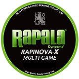 Rapala(ラパラ) ラピノヴァX マルチゲーム 1.2号 22.2lb 150m ライムグリーン RLX150M