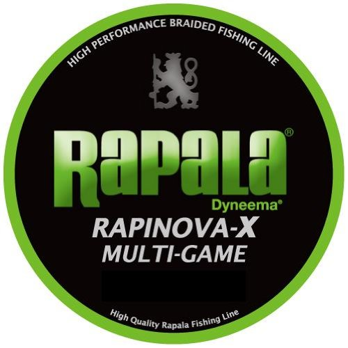 Rapala (Rapala) Rapinovu~a X Multi game No. 0.3 7.2lb 150m lime ...