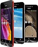 ASUS【海外で使えるスマホ】2つのSIMが使えて画面が大きくなった Zenfone4 (4.5inchディスプレイモデル/A450CG) : もちろんSIMフリー(Unlocked)のスマートフォンです【並行輸入品】 (Red)