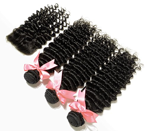 Danolsmann-Hair-Extensions-100-Unprocessed-Malaysia-Curly-Virgin-Hair-3-Bundles-With-Lace-Closure-Malaysia-Kinky-Curly-Human-Hair-Weave-Bundles-With-Closure
