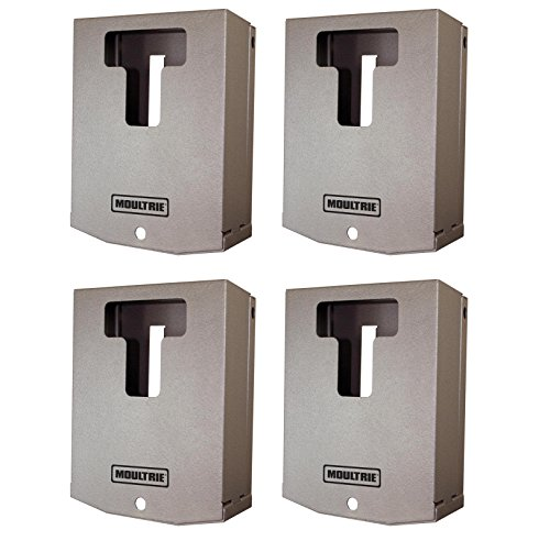 (4) Moultrie Mca-12664 A-Series Mini Game Camera Security Boxes | Fits A5 & A8
