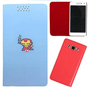 DooDa - For LG L60 PU Leather Designer Fashionable Fancy Flip Case Cover Pouch With Smooth Inner Velvet