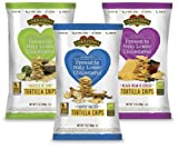 Corazonas Whole Grain Tortilla Chips, Variety Pack, 7-Ounce Packages (Pack of 6)