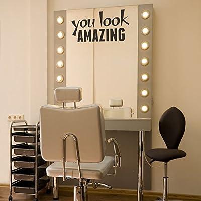 Sie sehen fantastisch Individuelle Vinylwand-Angebote f¨¹r Hair Salon
