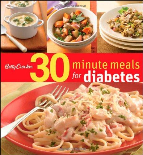 Betty Crocker 30-Minute Meals for Diabetes (Betty Crocker Cooking) by Betty Crocker