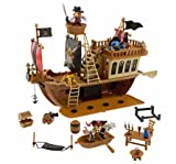 Disney(ディズニー) Mickey Mouse Pirates of the Caribbean Ship Deluxe Play Set ミッキー・マウスの海賊船セット 【並行輸入品】