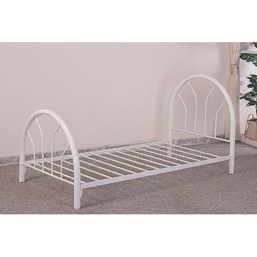 Monarch specialties metal bed frame twin white price Metal bed frame twin