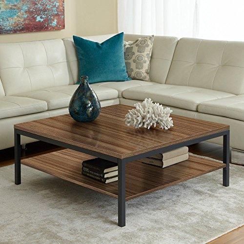 Parson Coffee Table With Shelf Finish: Walnut