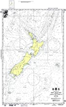 NGA Chart 600 South Pacific Ocean New Zealand Including Norfolk And Campbell Isl 28 X 45 TRADITIONAL
