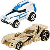Hot Wheels Star Wars Character Car 2-Pack, Battle Droid And Clone Trooper