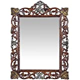 Shagun Seasoning & Arts Beautiful Design Mirror/Photo Frame Made Of Mango Wood - B071W1BCZS