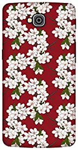 The Racoon Lean Cherry Flowers hard plastic printed back case / cover for LG G Pro Lite