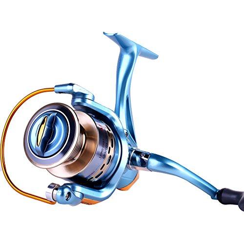 11 1bb spinning fishing reel saltwater high speed fishing for Sougayilang spinning fishing reels