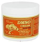 DMSO Cream with Aloe Vera Rose Scented -- 4 oz