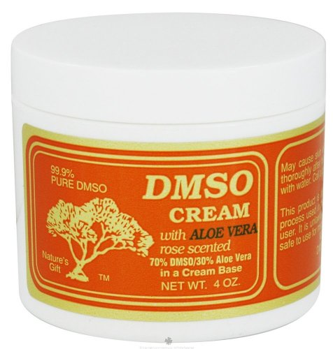 Why Choose DMSO Cream with Aloe Vera Rose Scented -- 4 oz