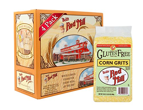 Bob's Red Mill Gluten Free Corn Grits / Polenta, 24-ounce (Pack of 4) (Corn Grits compare prices)