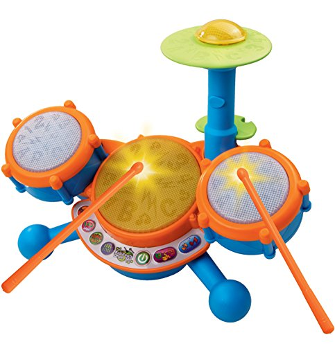 VTech KidiBeats Kids Drum Set (Four Year Old Boy Toys compare prices)