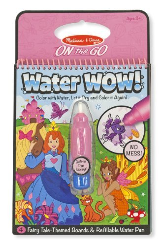 Water Wow!- Fairy Tale Color Book