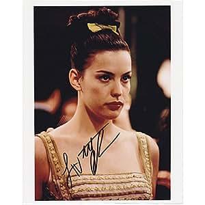Liv Tyler Autographed 8X10 Photograph