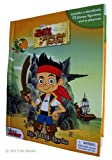 Jake and the Never Land Pirates - My Busy Book - Includes a Storybook, 12 Disney Figures and a Playmat