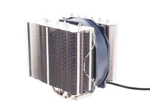 Silverstone Tek Heligon CPU Cooler for Intel Socket LGA775/LGA1155/LGA1156/LGA1366/LGA2011 and AMD Socket AM2/AM3/FM1/FM2, Silver (HE01) (Silverstone Cpu Cooler compare prices)