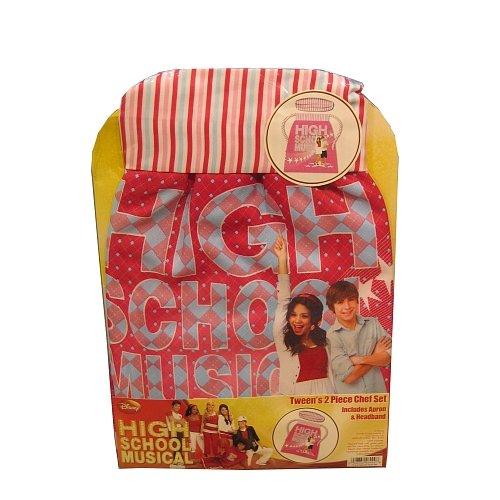 High School Musical Tween's 2 Piece Chef Set - 1