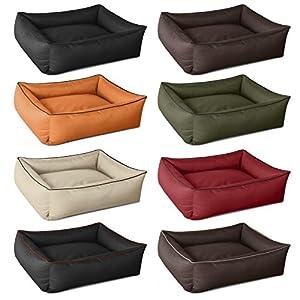 beddog max brun xxl 120x85 cm panier corbeille lit pour chien coussin de chien. Black Bedroom Furniture Sets. Home Design Ideas