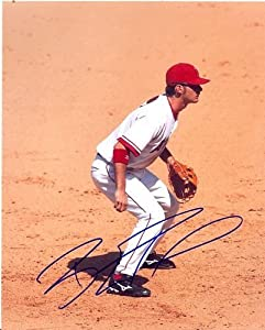 Brandon Wood Anaheim Angels Signed 8x10 Photo W COA by Hollywood Collectibles