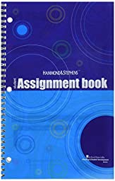 Hammond and Stephens 803241 Student Edition Daily Agenda Planner, Book Stock, 7\