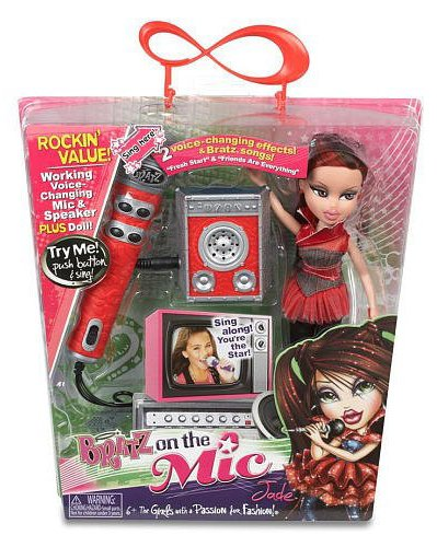 Bratz Bratz On The Mic Doll And Mic Jade