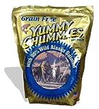 Arctic Paws Yummy Chummies Dog Treats 2.5 Lb (40 Oz) with 95% Wild Alaska Salmon