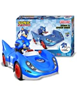 Meccano Sonic The Hedgehog Sonic and Speedstar