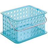 InterDesign Basket, Small, Aqua