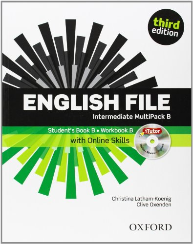 English File third edition. Intermediate. MultiPack B with iTutor and Online Skills