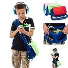 Ultimate Addons Kids Messenger Bag for Leapfrog LeapPad Ultra 7 Tablet (Pink)