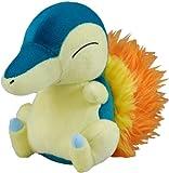 """Pokemon Diamond & Pearl Plush Stuffed Toy - 7"""" Cyndaquil"""