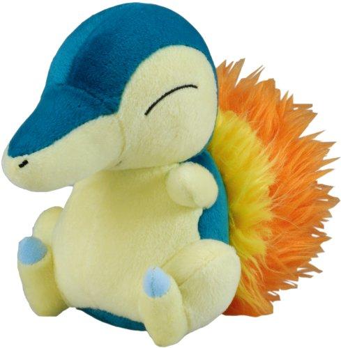 Cyndaquil Pokémon Diamond & Pearl Plush Stuffed Starter