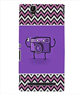 ColourCraft Cartoon Back Case Cover for SONY XPERIA T2 ULTRA