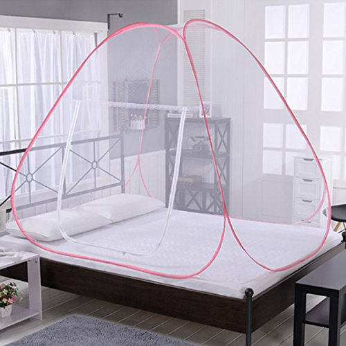 buy LEOSO Portable Folding Pop Up Mosquito Net Travel Camping Tent (S=120cm*195cm*136cm=47.2