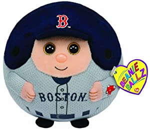 Ty Beanie Ballz MLB Boston Red Sox Plush