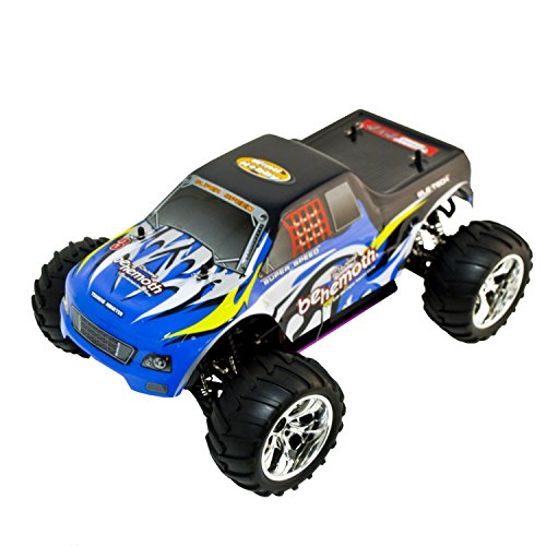 ALEKO RCC1081BLUE 1/10TH Scale Gas Powered Car 4WD Off-Road Truck, Blue (Rc Gas Powered Trucks compare prices)