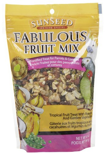 Cheap Vitakraft Sunseed Fabulous Fruit – Parrots – .75 lbs (B005731KL8)