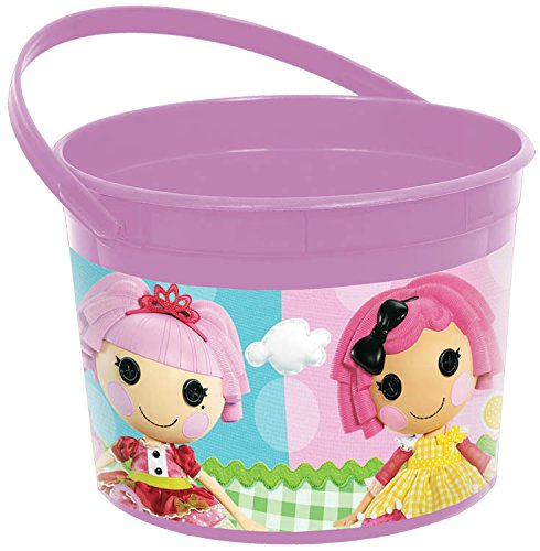 Amscan Adorable Lalaloopsy Favor Container (1 Piece), Purple