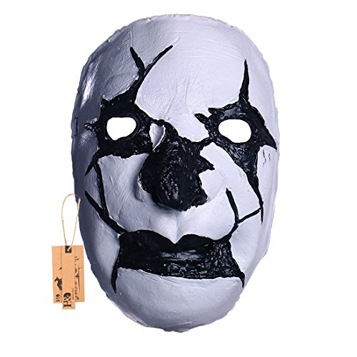 YUFENG Awesome Clown Masks,Halloween Costume Party Horror Scary Mask For Men, Latex