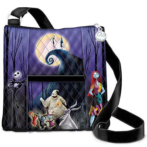 The Nightmare Before Christmas Quilted Crossbody Bag by The Bradford Exchange
